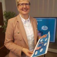 Aito Säästöpankin toimitusjohtaja Pirkko Ahonen Säästöpankkiliiton hallituksen puheenjohtajaksi