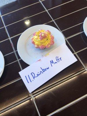 Rainbow Muffe oli opettajien suosikki.