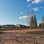 Räikän rannassa pääsee pian pelaamaan rantalentopalloa – Beach volley -kenttä valmistuu kesäkuussa