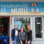 Nuorten yrittäjien kahvila ilostuttaa jälleen Räikässä – Edes korona ei estänyt kahvilan aukeamista
