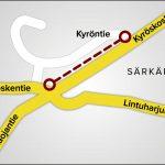 Viljakkalan ja Hämeenkyrön rajalle rakennetaan pikku pätkä kävelytietä – Se yhdistää jo olemassa olevat kevyen liikenteen väylät
