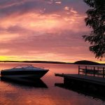 Lukijan kuva: Auringonnousu Tuomistonlahdella