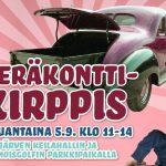 Peräkonttikirppis tuo hyvää mieltä, ostoksia, esityksiä ja musiikkia Ylöjärvelle ensi lauantaina