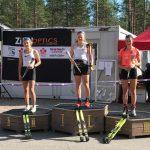 Ryhdin Elsa Torviselle rullahiihdon SM-pronssia