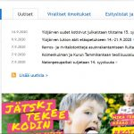 Ylöjärven uudet kotisivut julkaistiin tänään tiistaina