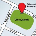 Elisa kaavailee Soppeenmäkeen uutta tukiasemaa – 36-metrinen telemasto sijoitettaisiin vanhan urheilukentän viereen