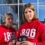 Lennon sisarukset kovassa vireessä: Nea ja Sanni ottivat kolme kultaa nuorten SM-halliyleisurheilusta Tampereelta