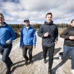 Oma harrastaneisuus lajiin kannusti ystävykset rakentamaan Suomen suurimman padel-hallin