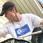Ylöjärven lukion yrittäjyyslinjalla yrittäjyyttä oppineet nuorukaiset työllistivät itsensä maalaamalla taloja – tavoitteena oma osakeyhtiö