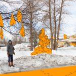 Kurulainen Johanna Havimäki on tehnyt yli kymmenen vuotta ympäristötietoista taidetta – Hänen käsissään esimerkiksi rikkinäinen nahkatakki saa uuden elämän