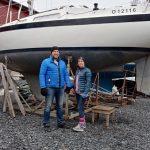 Purjehtimaan oppii vain purjehtimalla – maakrapu saa opin konkarilta