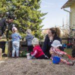 Villa Vallaton: Kodinomaista hoitoa lapsille keskellä kylää