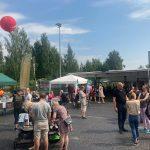 Ensimmäinen Street Food -tapahtuma sai fiiliksen korkealle – katso kuvagalleria