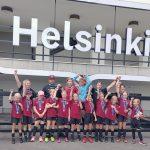 Ylöjärven Ilveksen T10-joukkueelle hopeaa Helsinki Cupista