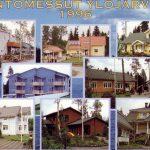 Muistatko vielä Ylöjärven asuntomessut ja Raija Pellin talon räjäytysyrityksen? 25 vuotta sitten messuilla tutustuttiin ällistyttävään koko naapuruston internetyhteyteen ja uuteen järjestelmään, jossa pyykkivesi tuli Veittijärvestä