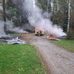 Pikku-Ahveniston laavu paloi maan tasalle – mahdollisesti sytytetty tahallaan